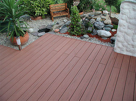 Moisture Shield Composite Decking Materials Manufactured From Recycled